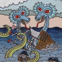 twoheadedimagekind Art Prints & Posters by Matthew Porter
