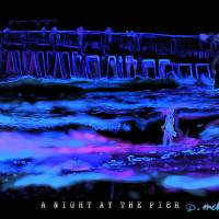 A NIGHT AT THE PIER Art Prints & Posters by David McKinney