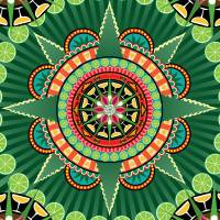 Mayahuel Mandala Art Prints & Posters by Alia Phibes