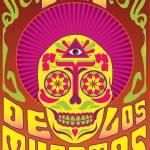 """""""Dias De Los Muertos Psychadelic"""" by Evilkid"""