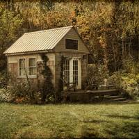 Cottage in the Country Art Prints & Posters by Pamela Phelps