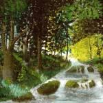 """""""Green Forest V 16x20 $389"""" by HGCavazoz"""