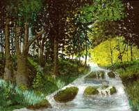 Green Forest V 16x20 $389