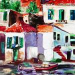 """Seaside Village  In italy"" by GinetteCallaway"
