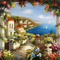 Italian Landscape Art Prints & Posters by Anne Vis