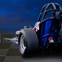Nostalgia Top Fuel Dragster 2 Art Prints & Posters by Dave Koontz