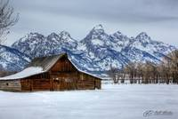 Tetons in Snow