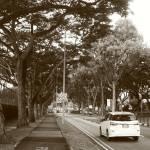 """Town Scene Monochrome, Singapore Pasir Ris"" by sghomedeco"
