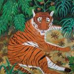 """""""Tiger in the Shade"""" by oenonehammersley"""
