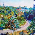 """Redwood Street Balboa Park San Diego"" by BeaconArtWorksCorporation"