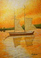 Sailboat on the Pointe