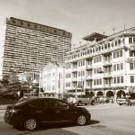"""China Town Singapore - Urban BW"" by sghomedeco"