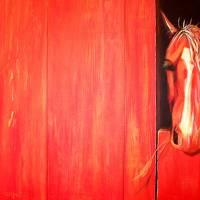 Shortcake, the Strawberry Red Roan Art Prints & Posters by Jenna Millward Corkill