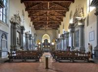 Church of SanFrancesco in Cortona Tuscany