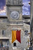 Clock Tower Cortona Tuscany