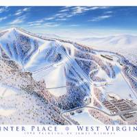 Winter Place, West virginia Art Prints & Posters by James Niehues