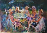 Garden Party - Ladies In Hats