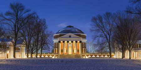 Frozen UVA Rotunda