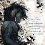 """""""DreamWalker Majestic Friesian"""" by AmyLynBihrle"""