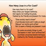 """How Many Animals in a Fur Coat?"" by Isacat"