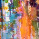 """""""Abstract Watercolor The Orange Slice by Ginette"""" by GinetteCallaway"""