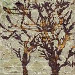 """ORL-5338-1 Raw Textured Tree"" by Aneri"