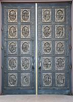 Cathedral of St Francis of Assisi Bronze Door