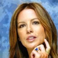 kate-beckinsale Art Prints & Posters by Boguslaw Florjan