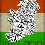 """Ireland County Map"" by RossPhotoWorks"