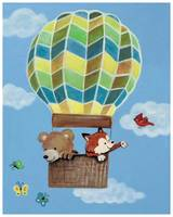 Fly Away Forest Friends - Bear and Fox