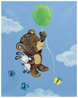 Fly Away Forest Animals - Bear and Bunny