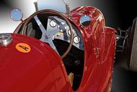 1939 Maserati 8CTF 'Driver's Compartment Detail'