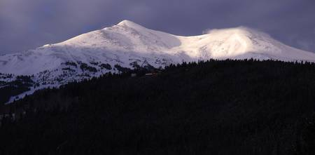 Breckenridge, Colorado Peak at Sunrise