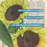 """Sunflower dictionary 2"" by DebbieDeWitt"