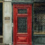 """Parisian Door No. 28-2"" by JoeyAgbayani"