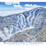 """Massanuttan, Virginia"" by jamesniehuesmaps"