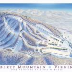 """Liberty Mountain, Virginia"" by jamesniehuesmaps"