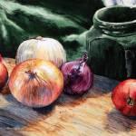 """Onions and Tomatoes"" by JoeyAgbayani"