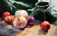 Onions and Tomatoes