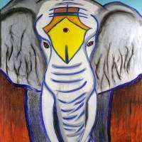 White Elephant Art Prints & Posters by Paul Hood