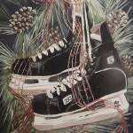 """Hockey Skates"" by RuthDriedger"