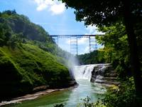 Waterfall at Letchworth State Park
