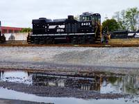 Norfolk Southern Water Reflection