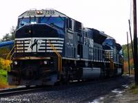 Norfolk Southern SD80MAC's
