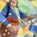 """""""Jazz Guitarist"""" by DavidRalph"""