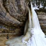 """""""Munising Falls, Michigan February 2014"""" by DeniseMackie"""