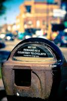 Old parking meter Chicago