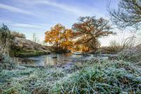 Cold and frosty morning, High Bentham