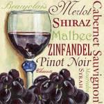 """Red Wine Text"" by DebbieDeWitt"
