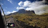 Iceland Dirt Road Scenery